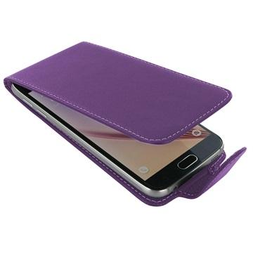 Samsung Galaxy S6 PDair Leren Case NP3LSSS6FX1 Paars