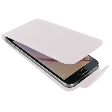 Samsung Galaxy S6 PDair Leren Case NP3WSSS6FX1 Wit