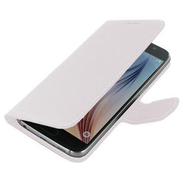 Samsung Galaxy S6 PDair Leren Case NP3WSSS6BX1 Wit