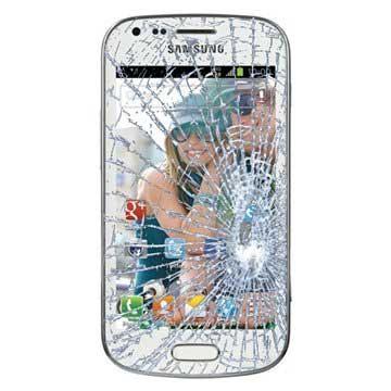 Samsung Galaxy Trend S7560 Displayglas Reparatie Wit