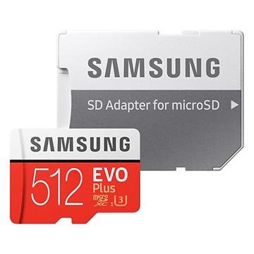Samsung microSDXC EVO+ 512GB met Adapter MB-MC512GA-EU
