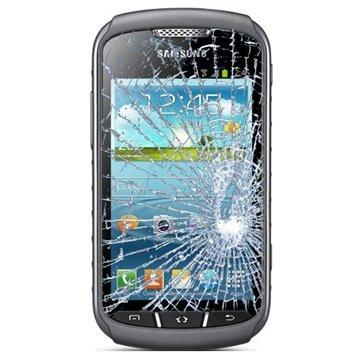 Samsung Samsung Galaxy Trend S7560 Displayglas Reparatie Zwart
