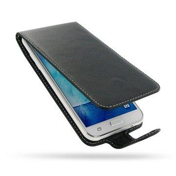 Samsung Galaxy J5 PDair Leren Case NP3BSSJ5F41 Zwart