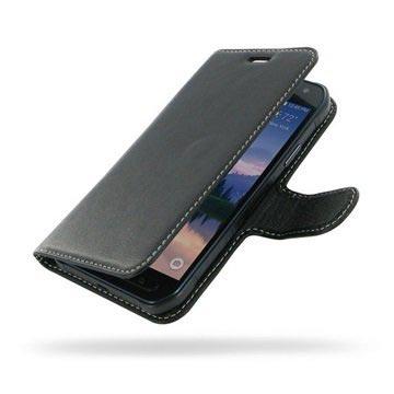 Samsung Galaxy S6 Active PDair Leren Case NP3BSSG8B41 Zwart