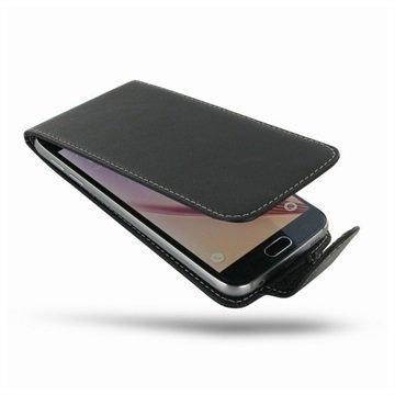Samsung Galaxy S6 PDair Leren Case NP3BSSS6FX1 Zwart