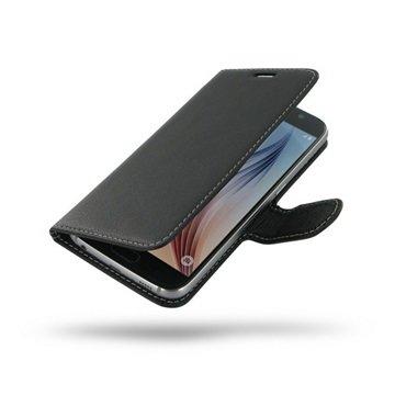 Samsung Galaxy S6 PDair Leren Case NP3BSSS6BX1 Zwart