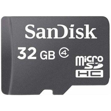Geheugenkaart Sandisk Micro SDHC 32Gb zwart