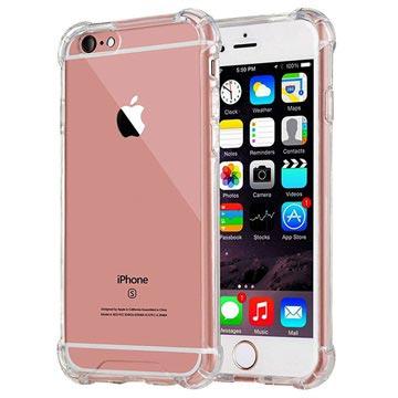 Krasbestendig iPhone 6-6S Hybrid Case Doorzichtig