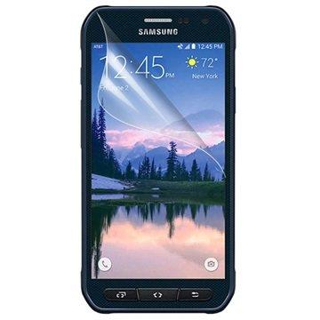 Displayfolie voor samsung galaxy s 6 active   doorzichtig  kwaliteit display folie voor uw apparaat ...