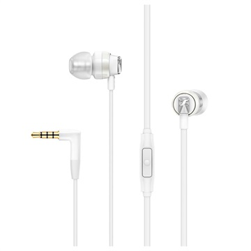 Sennheiser in-ear oordopjes CX 300s wit