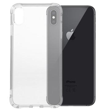Schokbestendig iPhone XS Max TPU Hoesje Doorzichtig