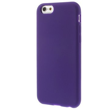 iPhone 6-6S Siliconen Hoesje Paars