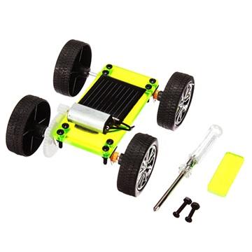 Zonne-Energie Educatieve Elektrische Auto Groen