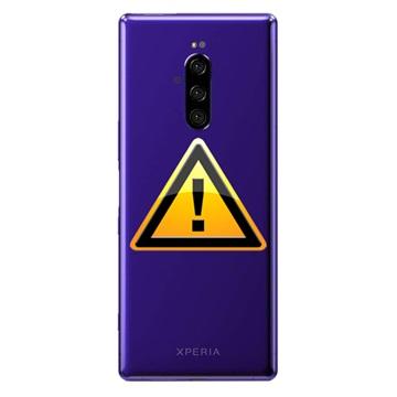Sony Xperia 1 Batterij Cover Reparatie - Paars