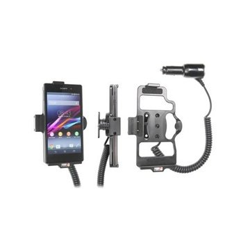 Brodit Active holder with cig-plug for Sony Xperia Z1, black (512566)
