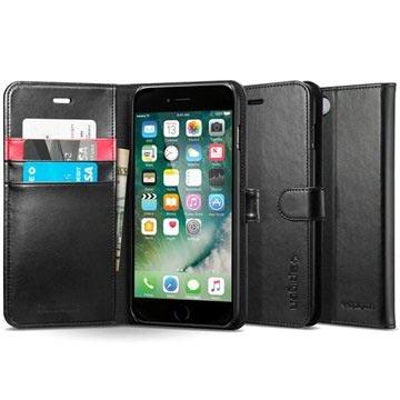 Spigen Wallet S Apple iPhone 7 Case 042CS20545 Black voor iPhone 7