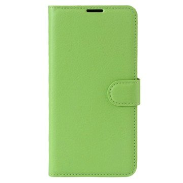 Motorola Moto G5 Plus Textured Wallet Case Groen
