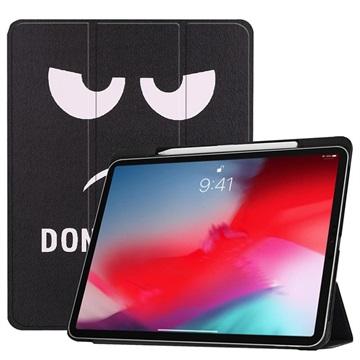 Tri-Fold Series iPad Pro 11 Smart Folio Hoesje Don't Touch Me