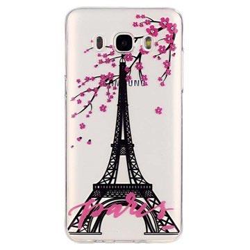 Samsung Galaxy J5 (2016) TPU Case Eiffeltoren