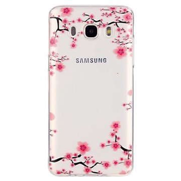 Samsung Galaxy J5 (2016) TPU Case Bloemen