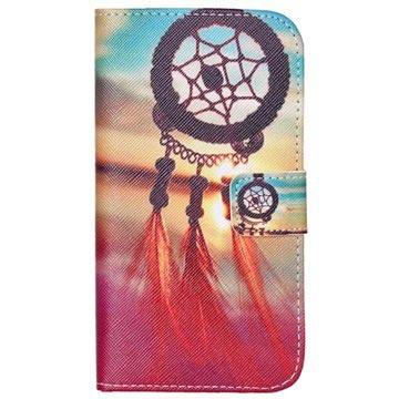 Wallet hoesje voor samsung galaxy j 5   dromenvanger  een tas die ieders ogen zal vangen.  houd uw toestel ...