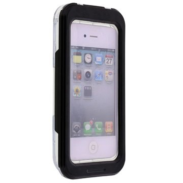 Waterbestendig Case iPhone 4-4S, iPhone 5-5S-SE Zwart
