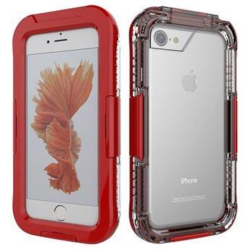 iPhone 7 Waterdicht Hoesje Rood