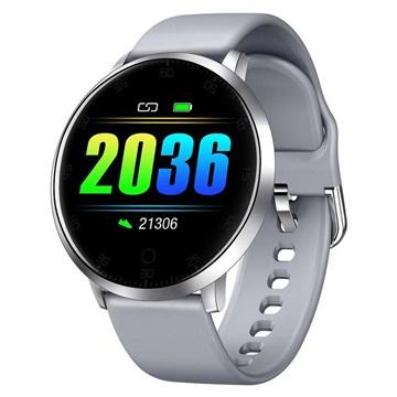 Waterbestendig Smartwatch met Hartslagmeting K12 Grijs