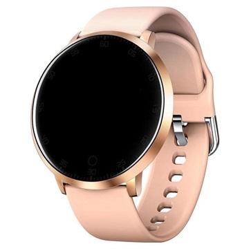 Waterbestendig Smartwatch met Hartslagmeting K12 Rose Gold