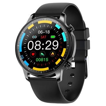 Waterproof Smartwatch Met Hartslagmeter V23 Zwart