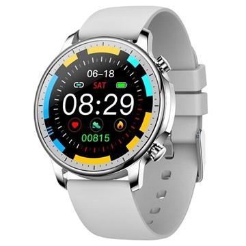 Waterproof Smartwatch Met Hartslagmeter V23 Grijs