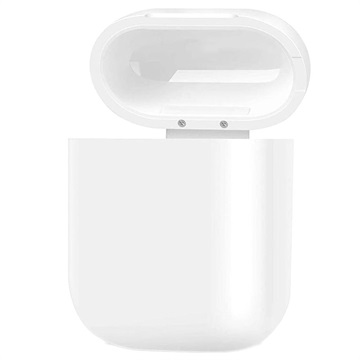 Apple AirPods Qi Draadloze Oplaad Case Wit