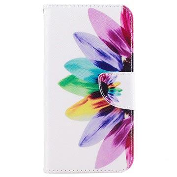 Samsung Galaxy J5 (2017) Wonder Series Wallet Case Bloem