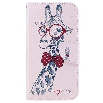 Samsung Galaxy J5 (2017) Wonder Series Wallet Case Giraffe
