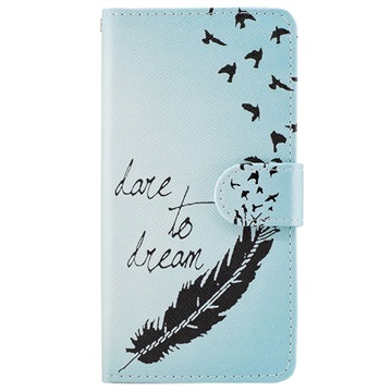 Motorola Moto G5 Wonder Series Wallet Case Dare to Dream