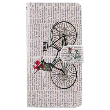 Motorola Moto G5 Wonder Series Wallet Case Fiets