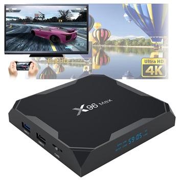 X96 Max 4K UHD Android 8.1 TV Box met 4GB RAM, 32GB ROM
