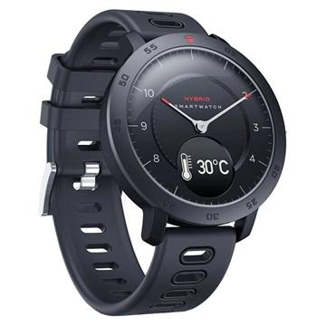 Zeblaze Hybrid OLED Smartwatch met Hartslagmeter Zwart