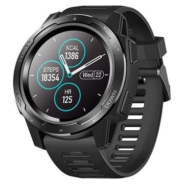 Zeblaze Vibe 5 Sports Smartwatch met Hartslagmeter IP67 Zwart