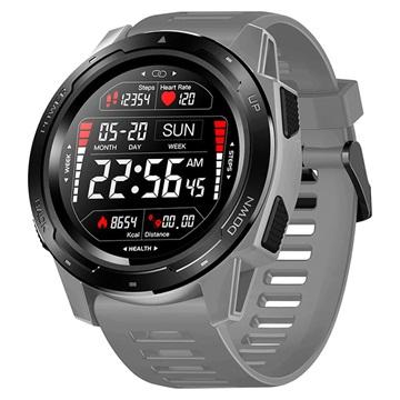 Zeblaze Vibe 5 Sports Smartwatch met Hartslagmeter IP67 Grijs