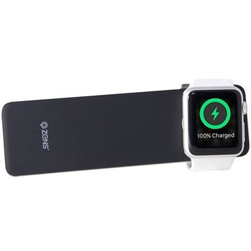 ZENS ZENS APPLE IPHONE-WATCH POWER BANK ZWART 5000 MAH (ZEPW02B-00)