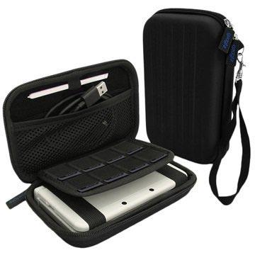 Nintendo 3DS XL iGadgitz EVA Carrying Cover Zwart