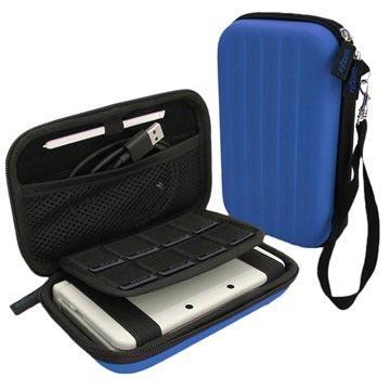 Nintendo 3DS XL iGadgitz EVA Carrying Cover Blauw