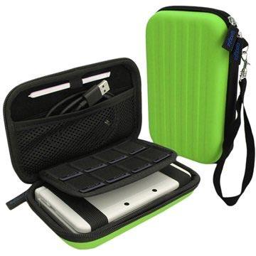 Nintendo 3DS XL iGadgitz EVA Carrying Cover Groen