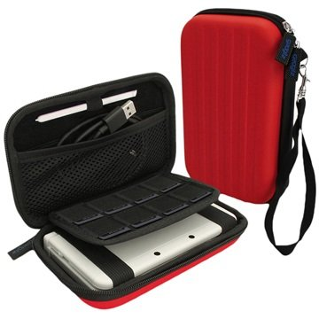 Nintendo 3DS XL iGadgitz EVA Carrying Cover Rood