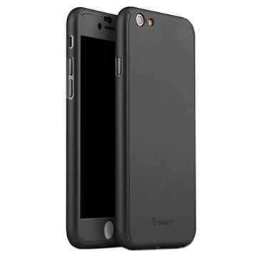 iPhone 6 iPaky 360 Protection Cover Zwart