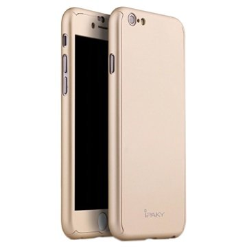 iPhone 6 iPaky 360 Protection Cover Goud