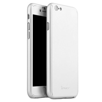 iPhone 6 Plus iPaky 360 Protection Cover Zilver