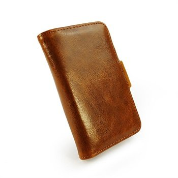 Vintage Leather Wallet-Style Case Cover for Apple iPhone 4S