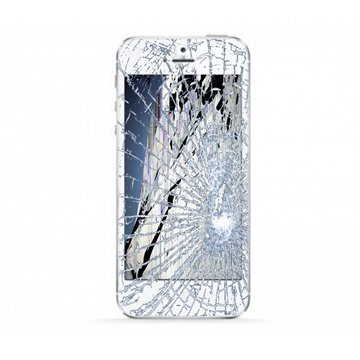iPhone 5S LCD & Touchscreen Reparatie Wit Grade A